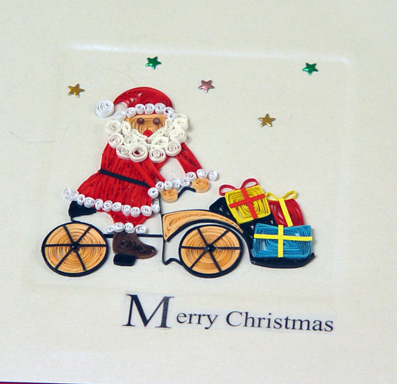 merry christmas quilling cards buy quilling cards noel cards 3d