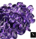 Amethyst teardrop briolette drop beads 10mm size natural faceted stones