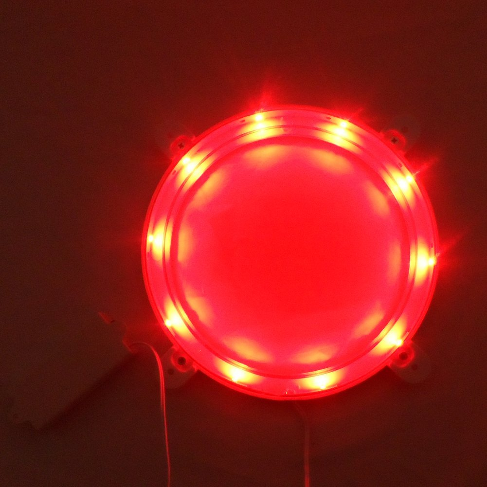2pcs 6/'/' Round Cornhole LED Board Lights for Playing Game at Night Green