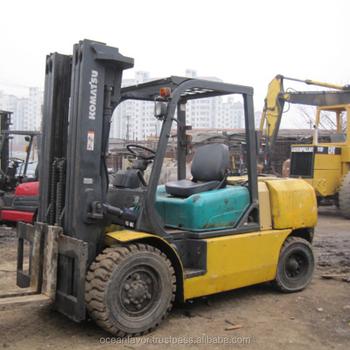 Used 5 Ton Komatsu Forklift,Komatsu Fd50at-7 Forklift For Sale In Shanghai  - Buy 5ton Kalmar Forklift,Komatsu Forklift,Komatsu Fd50 Product on
