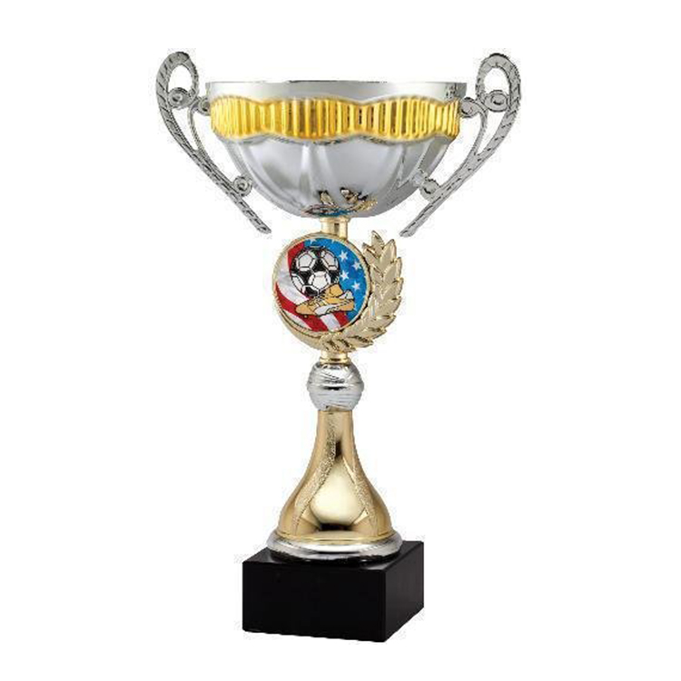 12 Inch Metal Gold Chili Cook-Off Cup Trophy for award