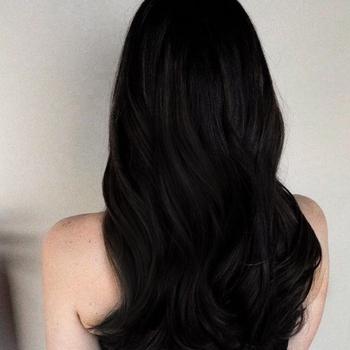 Natural Ash Black Hair Color