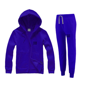 Casual Athletic Tracksuit Full Zip Light Weight Jogging Sweat Suits Wholesale
