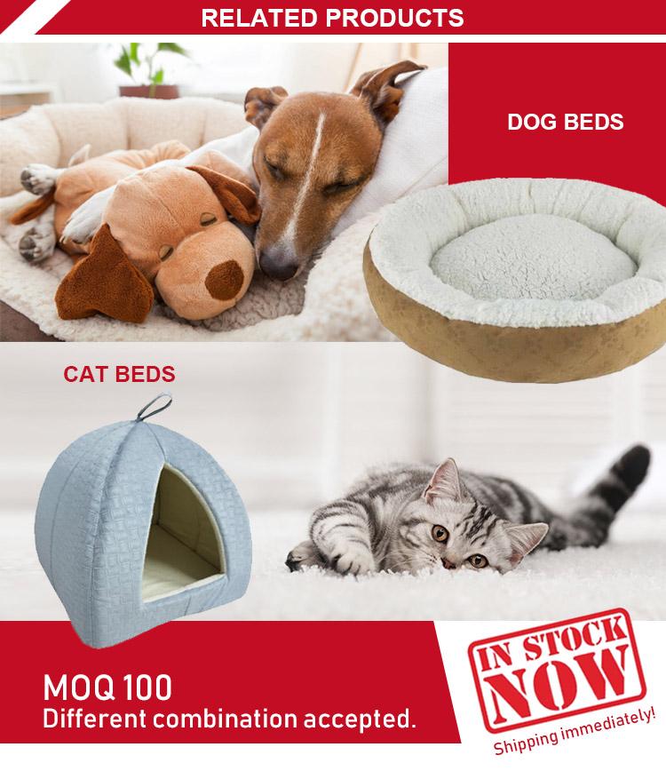 Nieuwe pet supplies faux fur luxe hond bed sofa
