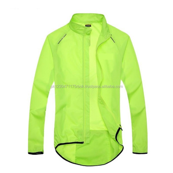 Men Cycling Jackets Bicycle Bike Rain Jacket Raincoat With Back ...