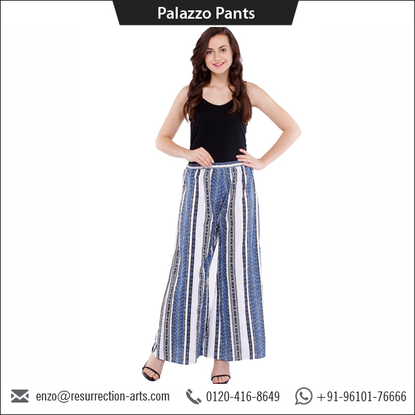 Indian Cotton Printed Palazzo Pants Women