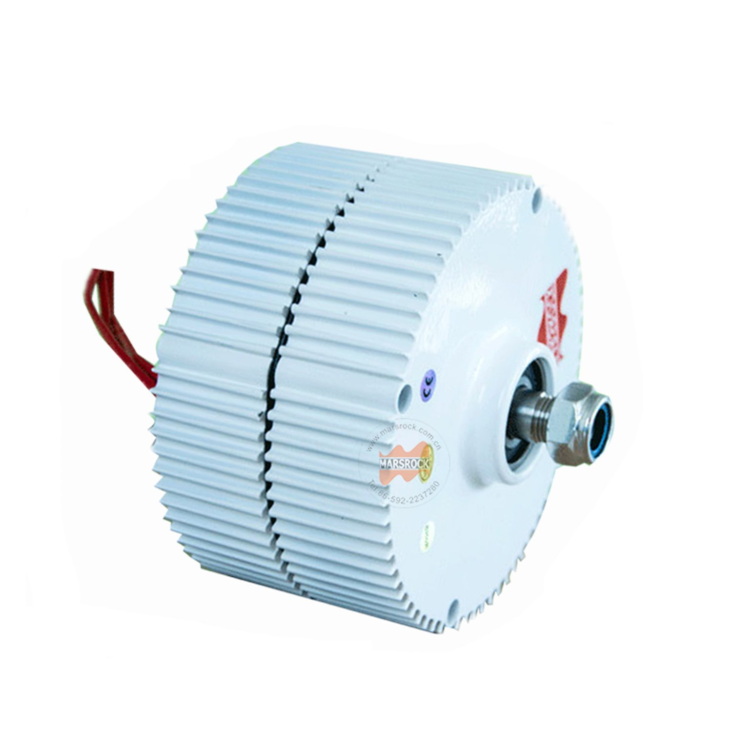 MarsRock 400W 1000r/m 12/24/48V Permanent Magnet Generator AC Alternator for Vertical Wind Turbine Generator 24V
