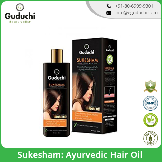 Sukesham: Ayurvedic Hair Oil, Prevents Hair Fall And Promotes Hair Growth