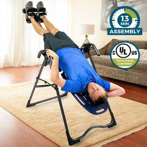Teeter EP-560 FDA-Cleared Inversion Table for back pain relief