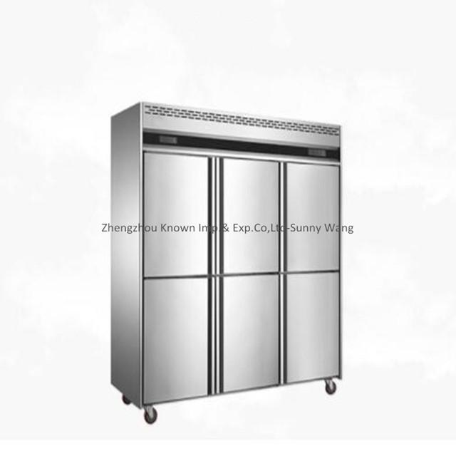 6 Door Commercial Freezer  Chiller  Freezer  Refrigerator
