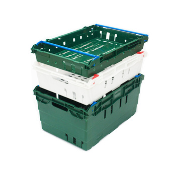 Agriculture stackable plastic crate collapsible plastic vegetable crates