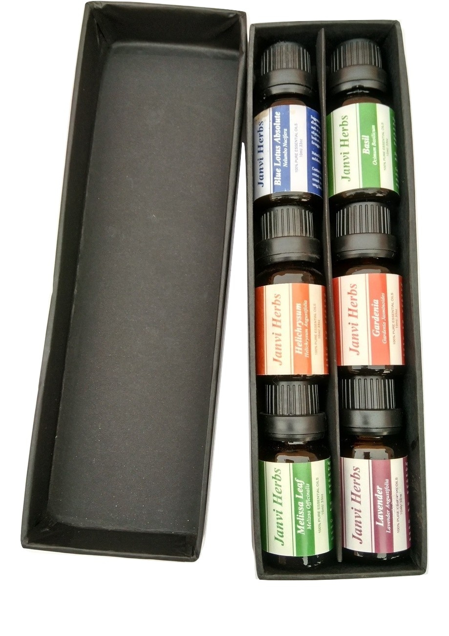 Private label aromatherapy massage oil gift set 100% pure essential oil set