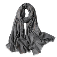Classic England Autumn And Winter Lady Tartan Blanket Houndstooth Wool Scarf Wrap Female Wild New Warmth Cashmere Acrylic Shawl