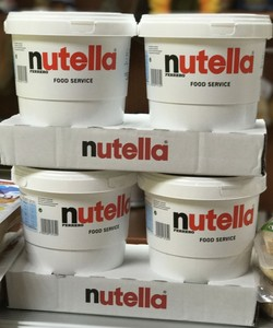 READY STOCK FERRERO NUTELLA CHOCOLATE SPREAD 1kg and 3kg, 5kg and 7 5kg