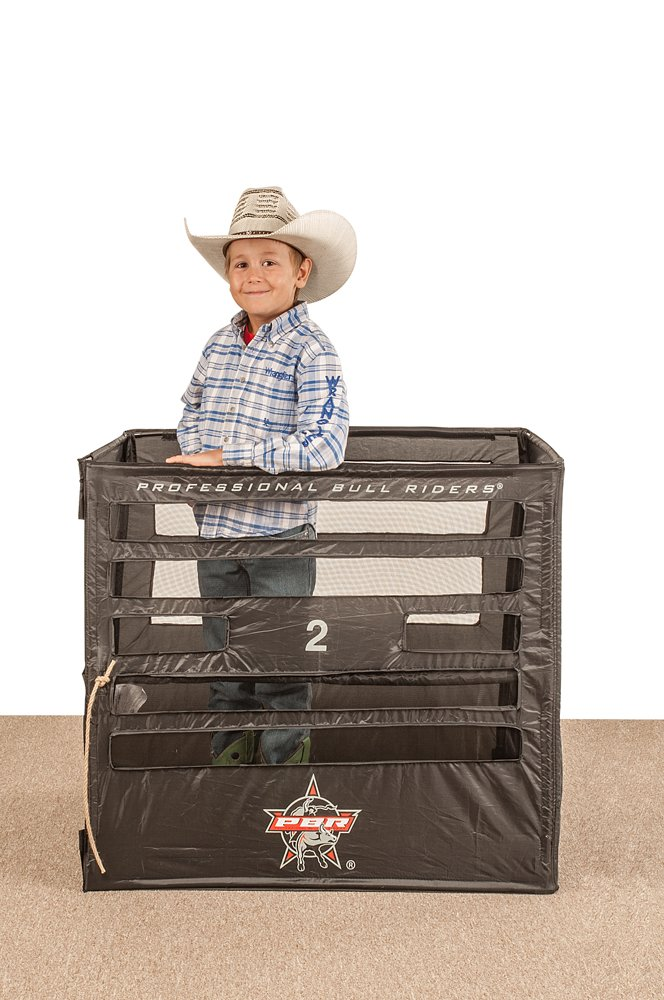 Big Country Toys PBR Bucking Chute - Kids Bouncy Toy Accessories - Bucking Bull Toys - Kids Hopper Toys - Rodeo Toy
