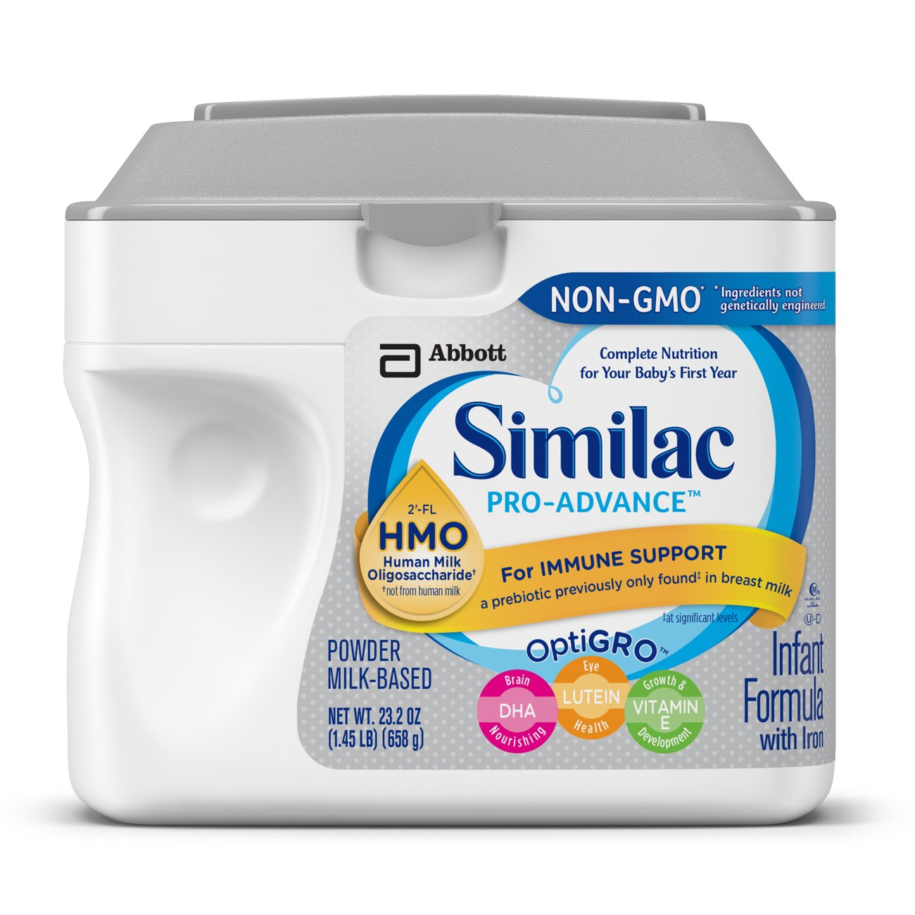 Similac Pro-Advance Infant Formula with 2'-FL HMO for Immune Support Powder, 23.2 oz