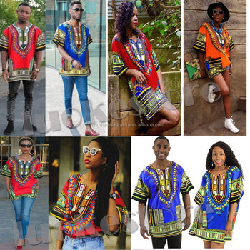 Dashiki Caftan Shirt Tribal African Women Rasta Hippie Blouse Top ...