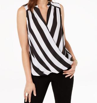 Frauen Kleidung Sommer Neue Look Bold Streifen Ganze Verkauf Top