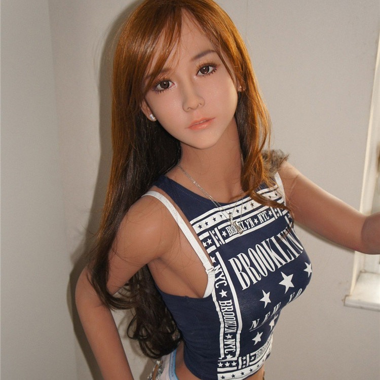 Free shipping 157 cm new design cheap silicone sex doll with voice and heating system young girl sex doll