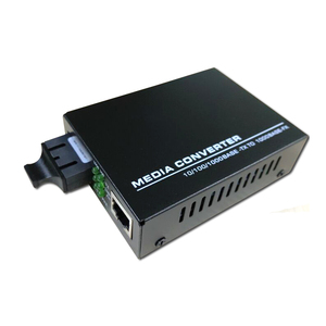 Gigabit singlemode dual fiber optical media converter 20km fo to ethernet