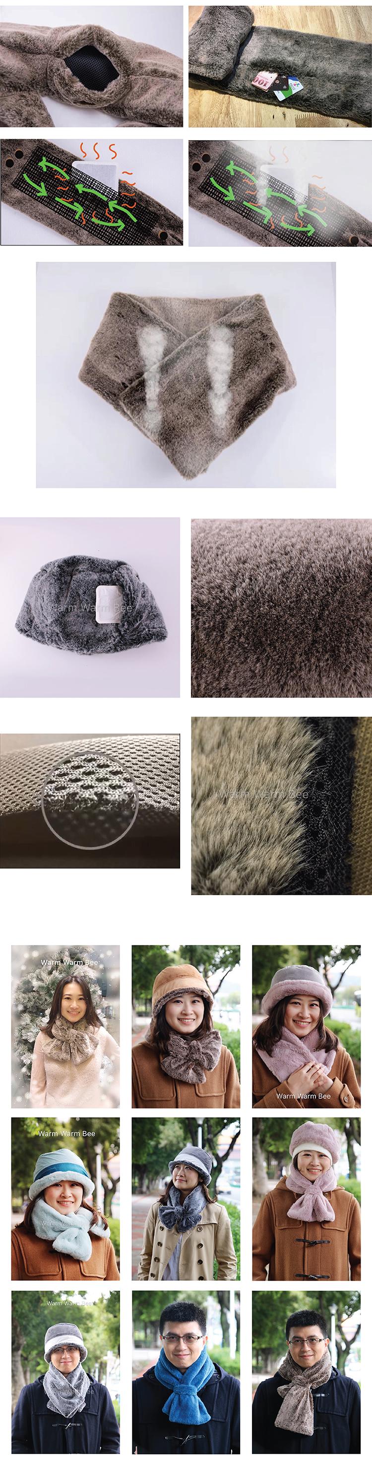 Patent Winter Sjaal Fabrikant met Wegwerp Warmte Pak