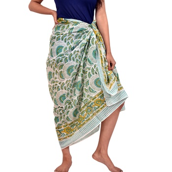 Wholesale cotton scarfs printed sarongs for sale indian