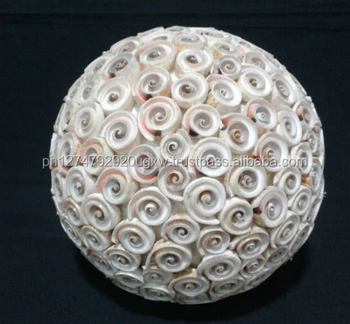 Seashell Balls Made Of Luhuanos Shell Size 8inches Philippine