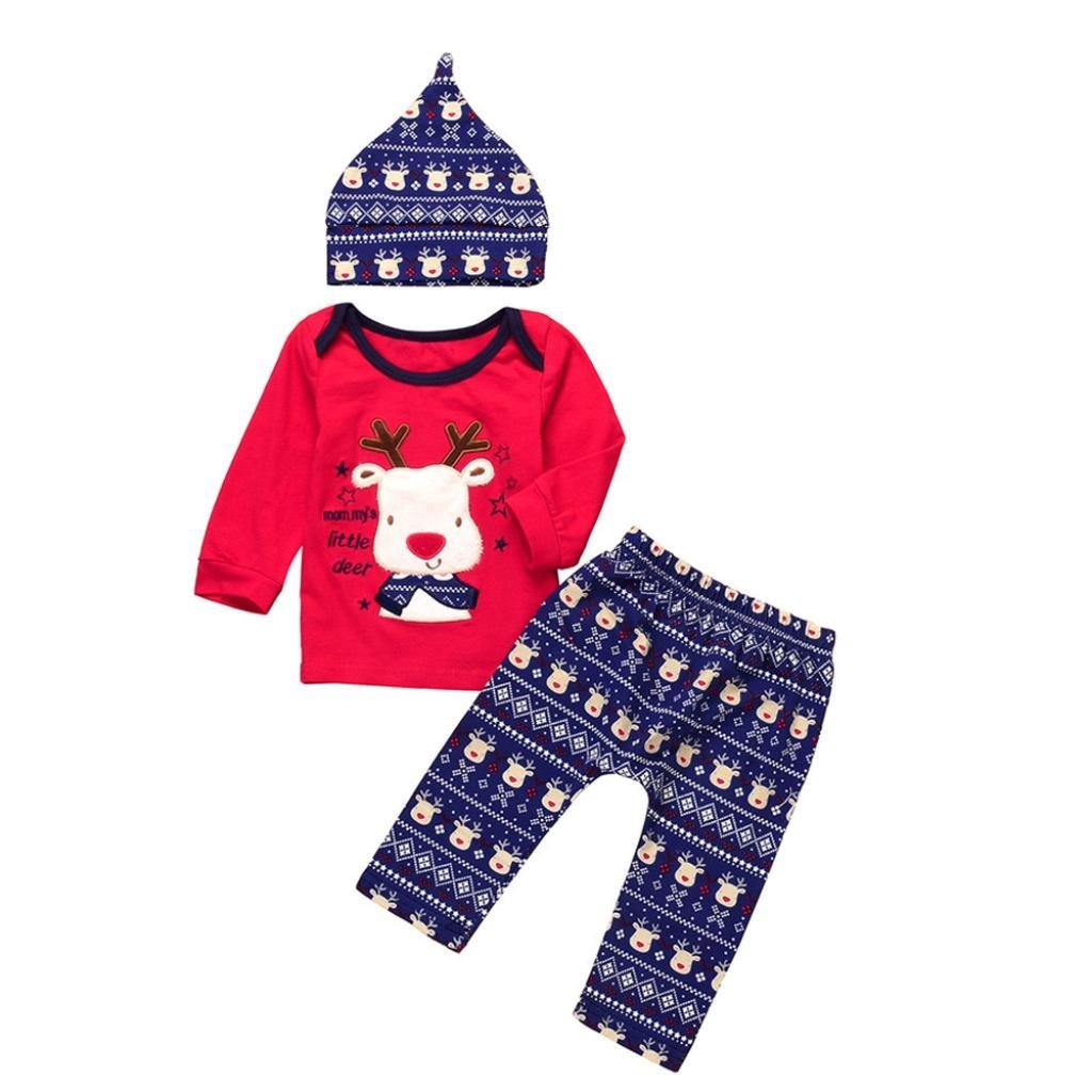 Get Quotations · Babys Christmas Outfits Set 000f1c0b7