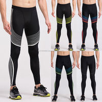 Latest Men Compression Base Layer Workout Running Gym Fitness Yoga Sports Tight Pants