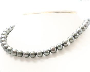 c3fea8153d58 -Propiedad se MIKIMOTO Perla Negra joyería collares al por mayor para  joyeros y tiendas de
