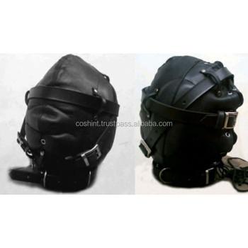 Genuine Leather Bondage Muzzle Mask