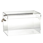 Custom Made Lucite Acrylic Clear Trunk Large Custom Hand Made Trunk