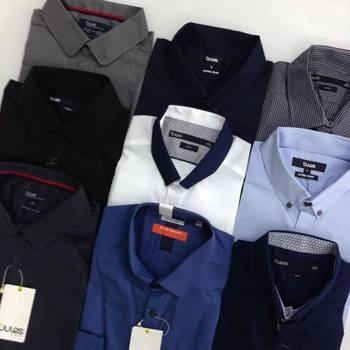 Strip Printing Button Oxford Casual Mens Wholesale Dress Shirts