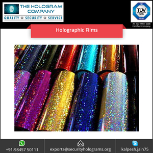 PVC Iridescent Laser Holographic Film Shining for Making Gift Bag