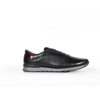 Leather sneakers for men from factory - V333chp