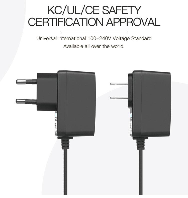 1a 9 volt 1 amp dc adapter 9v power supply
