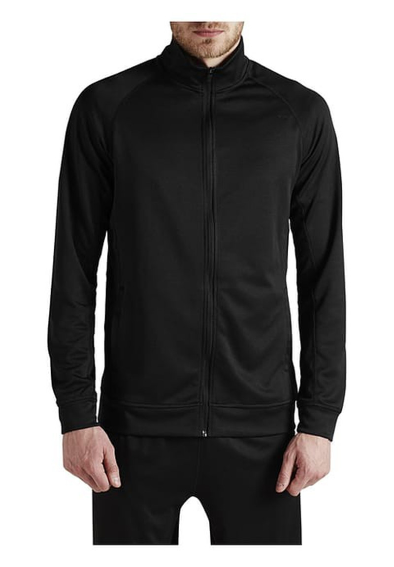 Wellone sports running causal raglan sleeves black color custom your design gym men wholesale track jackets