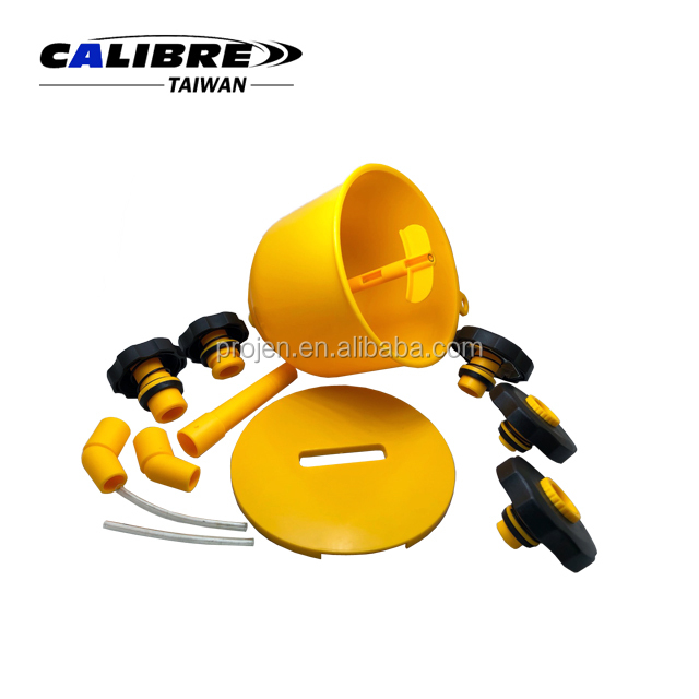 CALIBRE Coolant Funnel Filling Kit Radiator Funnel Kits Spill Proof Radiator Coolant Filling Funnel Kit