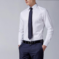 Newest High Quality Pure Cotton Long Sleeve Formal Business Mens Dress Shirts