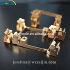 Electrical copper stamping parts for 8 holes wall socket pakistani switch 250V