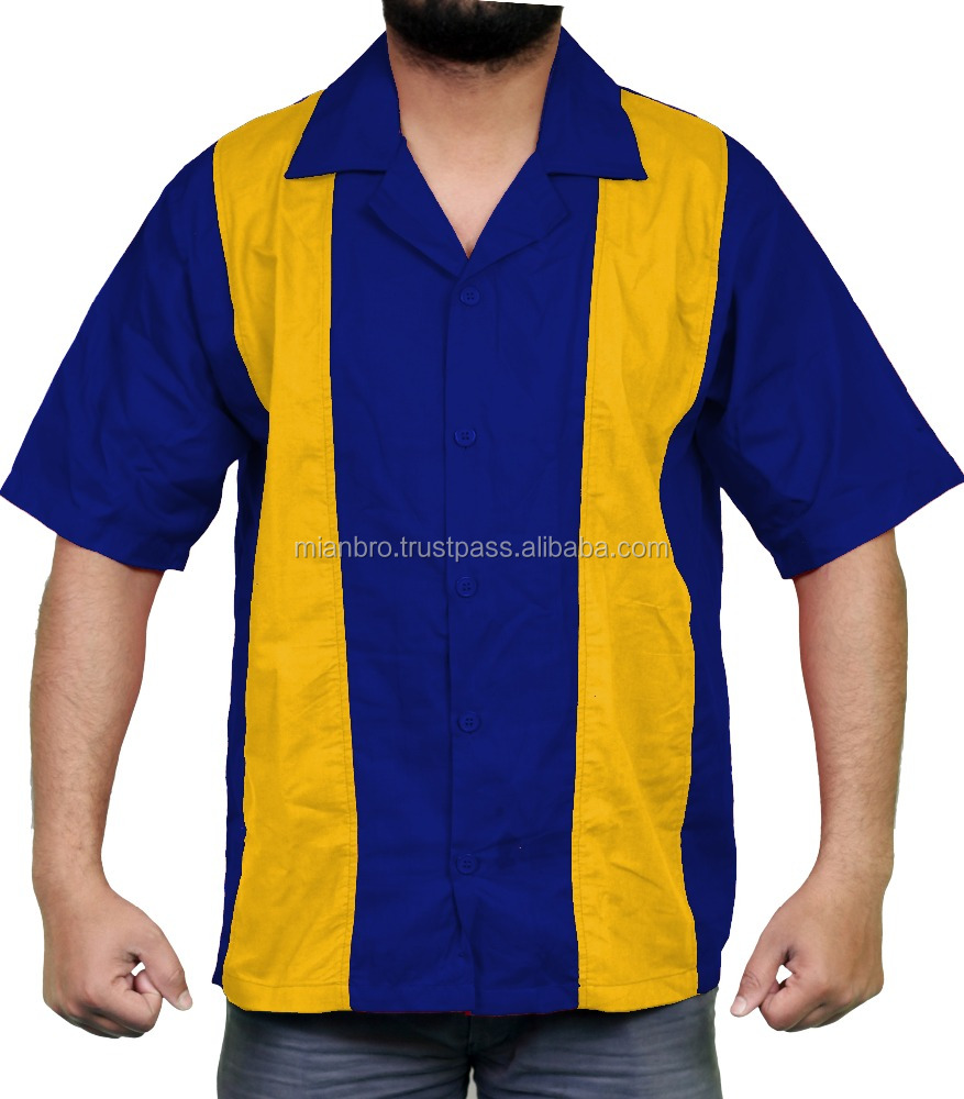 1fd70323 Custom Bowling Shirts for Men 100% Cotton, OEM Darter Shirts, Work Shirts