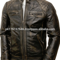 Men's Vintage Leather Jacket LFJ008 Leather Fashion Jacket