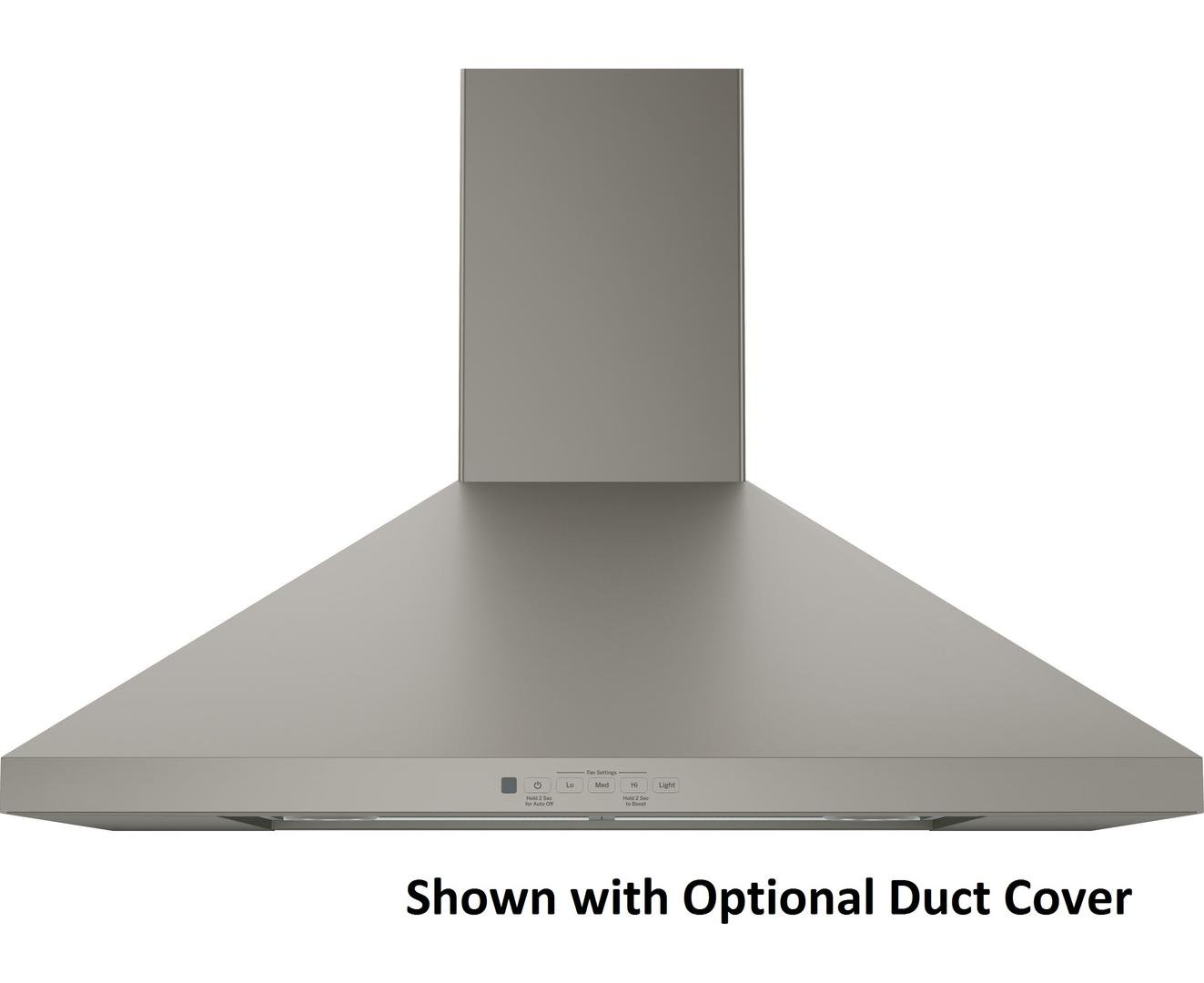 Get Quotations Jvw5301ejes 30 Wall Mount Pyramid Chimney Hood With 350 Cfm Venting System