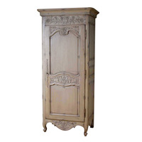 Furniture of French Armoire One Door for Wardrobe Bedroom Furniture Made from Dwira Jepara Indonesia Furniture Manufacturer