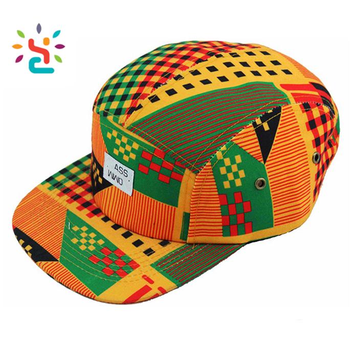 Different african print 5 panel hats custom winter corduroy trucker hat no  mesh xxl snapback caps 6f5459e534e