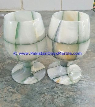 RED ONYX PATCH WINE GLASSES & GOBLETS