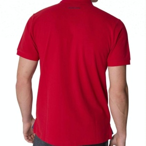 SOLID color promotion polo t-shirt with logo 100 polyester t shirts