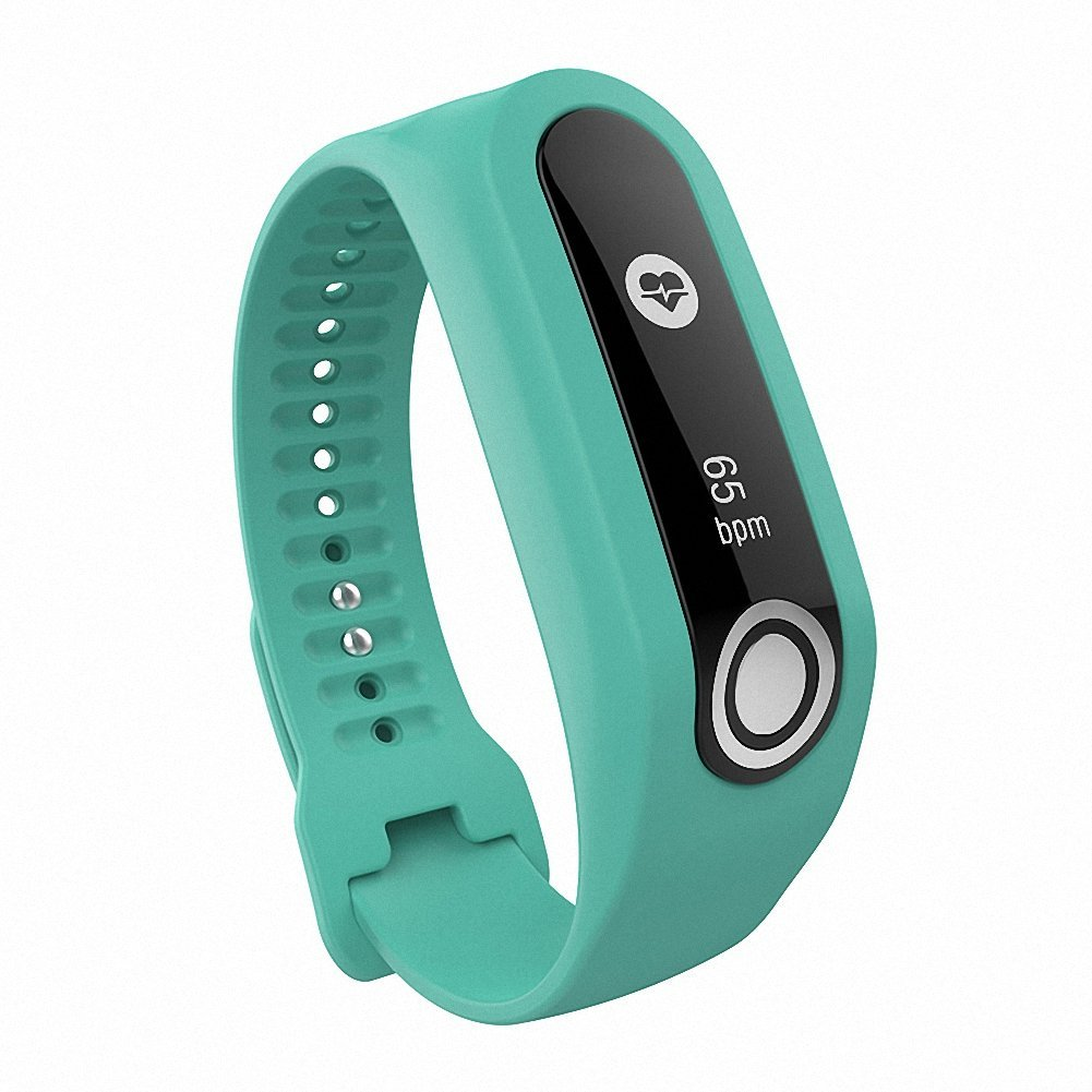 For TomTom Touch Band,Gentman Silicone Wristband Replacement Strap for TomTom Touch Fitness Tracker
