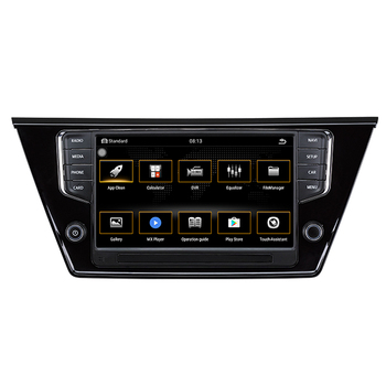 2 din car radio navigation system car multimedia video android car dvd for VW Touran L 2015-2018