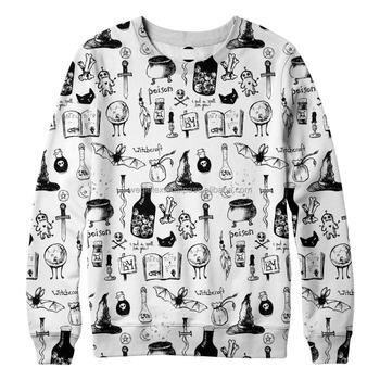 6307d656a367 Mens Allover Print Crewneck Sweatshirts Full Print Sweatshirt - Buy ...